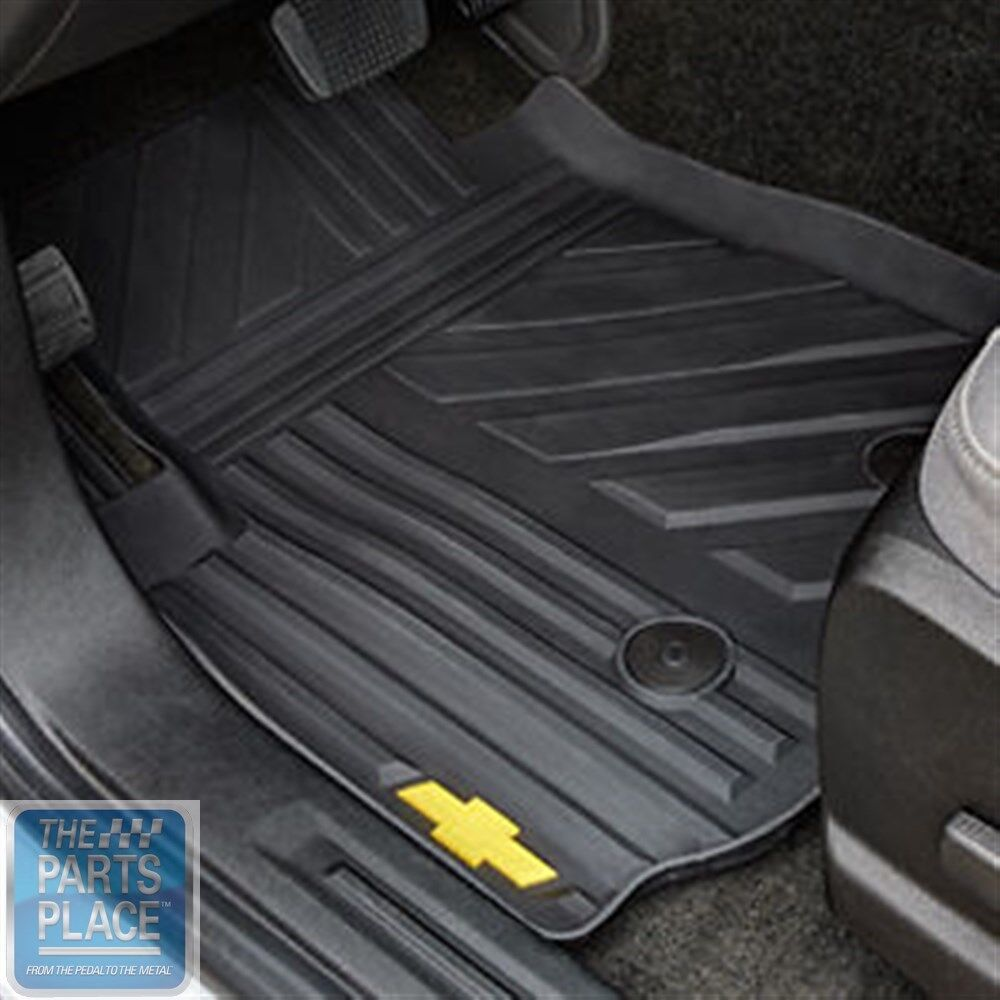 2015 Chevrolet Colorado Front Floor Mats All Weather