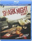 SHARK NIGHT (Blu-ray/DVD, 2012, Canadian) NEW & FACTORY SEALED