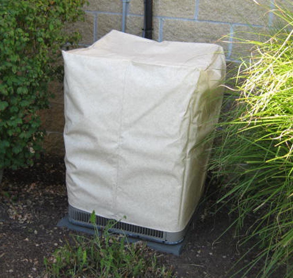 Outdoor air conditioner cover 24 x 24 square fits 26 for Carrier air conditioner covers exterior