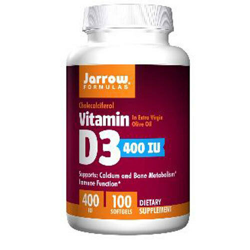 vitamin d 3 cholecalciferol 400iu x 100sgels cold flu jarrow formulas ebay. Black Bedroom Furniture Sets. Home Design Ideas