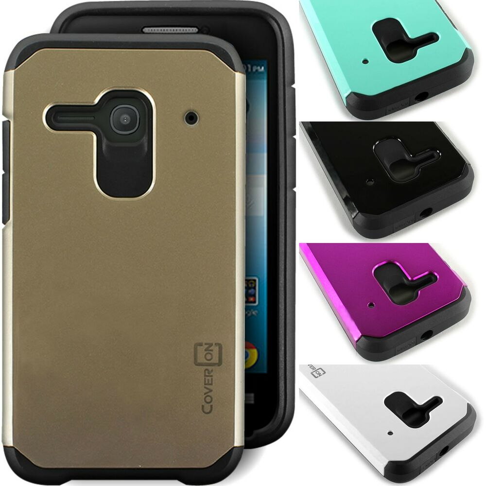 Slim Hybrid Phone Cover Case for Alcatel One Touch Evolve 2 4037T ...