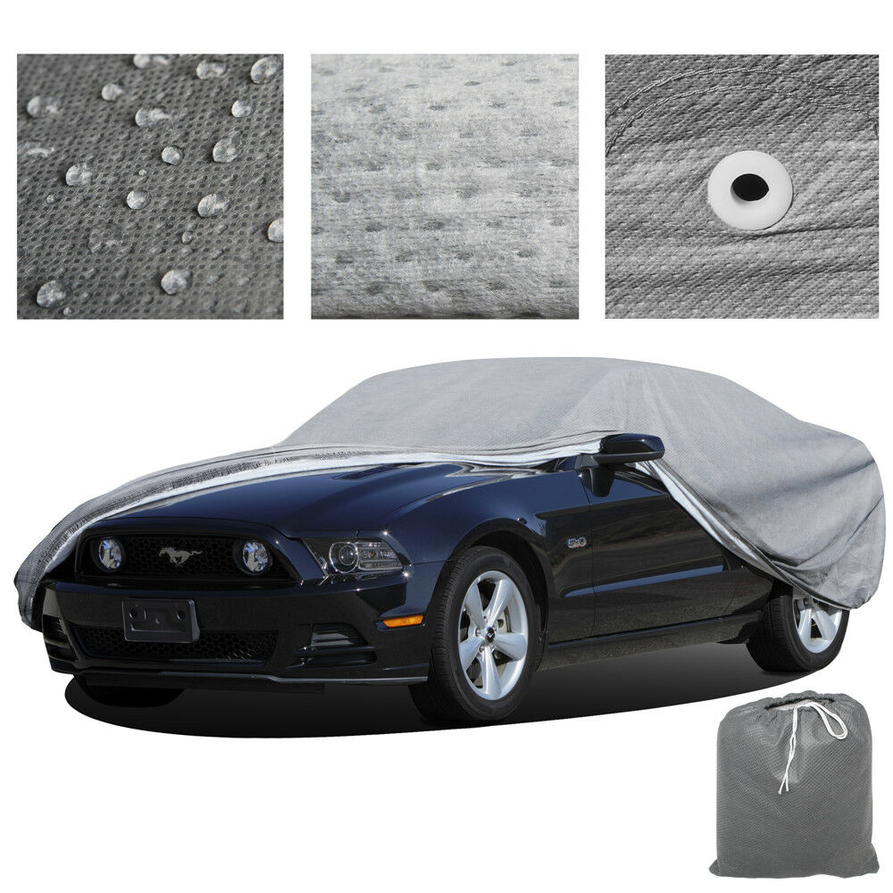 Breathable Water Resist Weather Protective Car Cover
