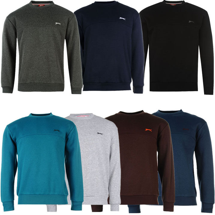 slazenger herren pullover sweatshirt pulli sweater gr s m. Black Bedroom Furniture Sets. Home Design Ideas