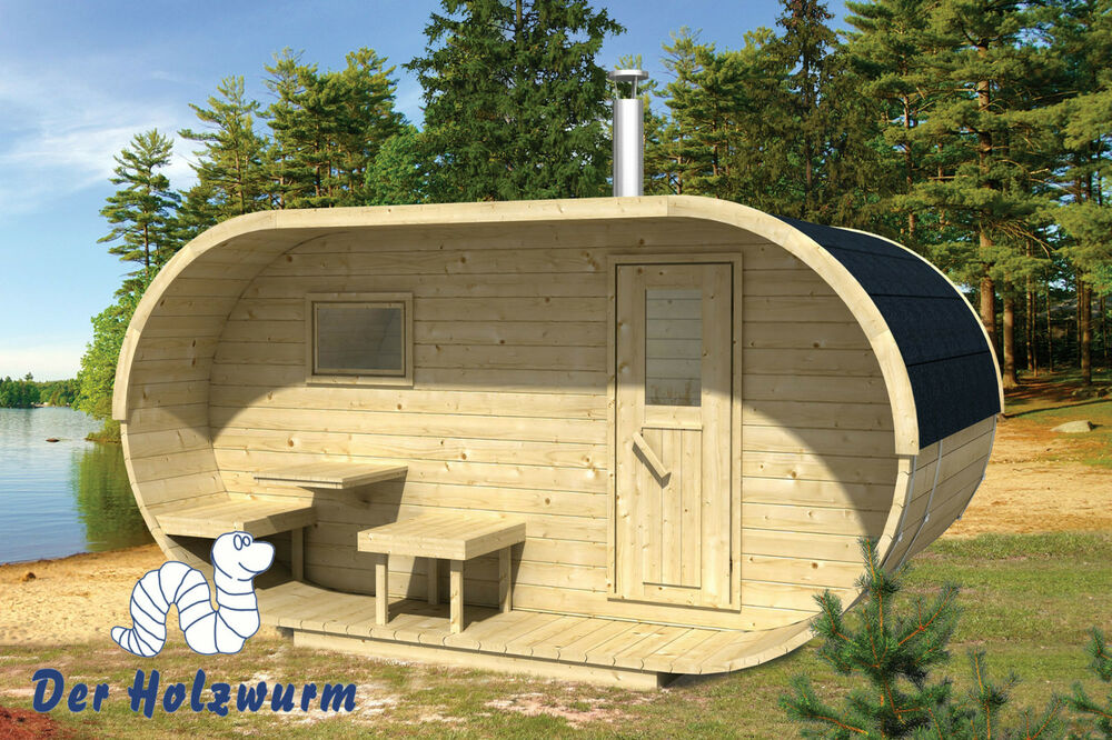 sauna oval holz 405x240 cm 28 42 mm ofen holzofen elektroofen fichte neu ebay. Black Bedroom Furniture Sets. Home Design Ideas