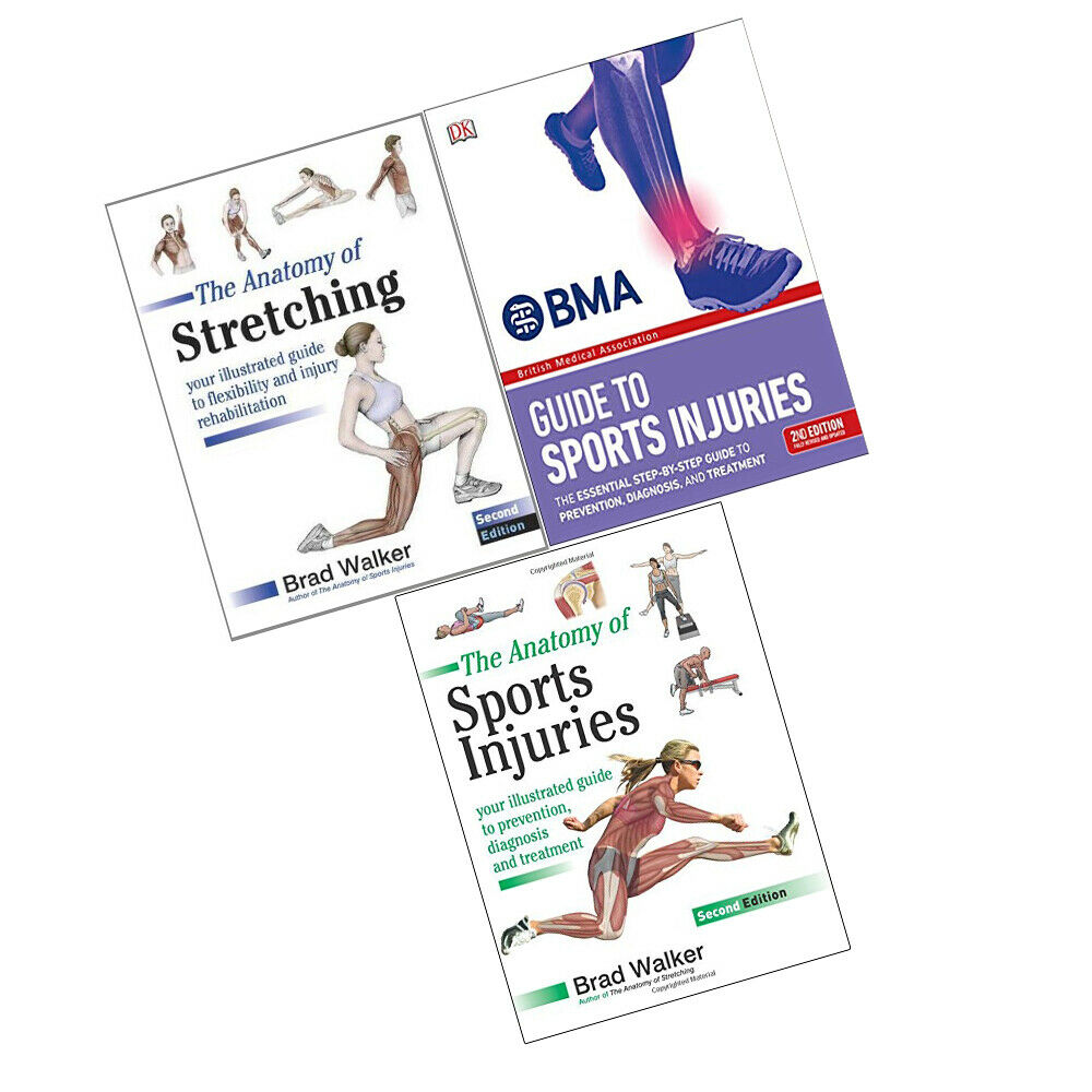 The Anatomy of Stretching Collection 3 Books , The BMA Guide to ...