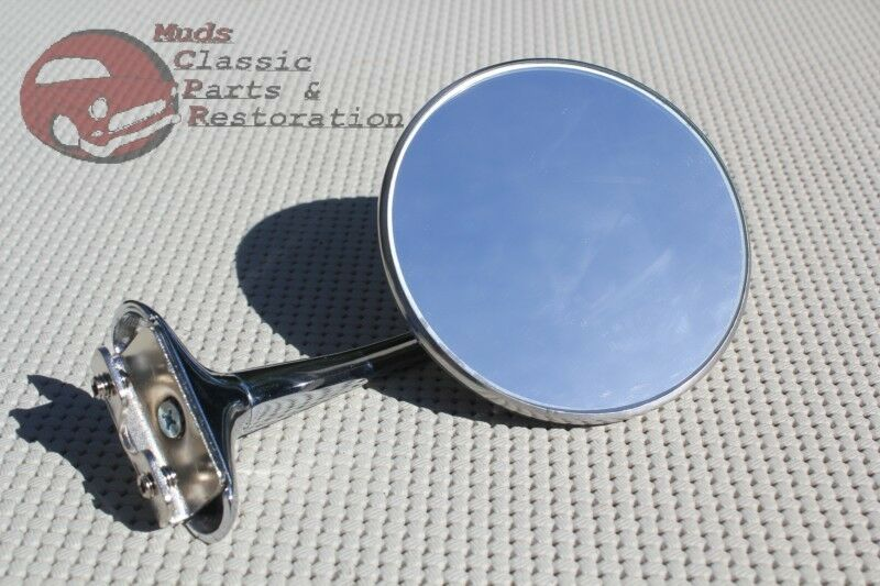 Curved Arm Rearview Outside Side Door Rearview Peep Mirror