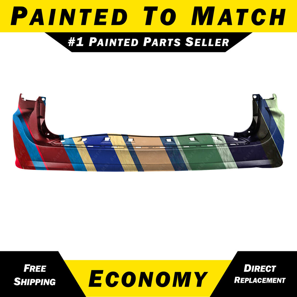 New Painted To Match Rear Bumper Cover 2011 2015 Dodge
