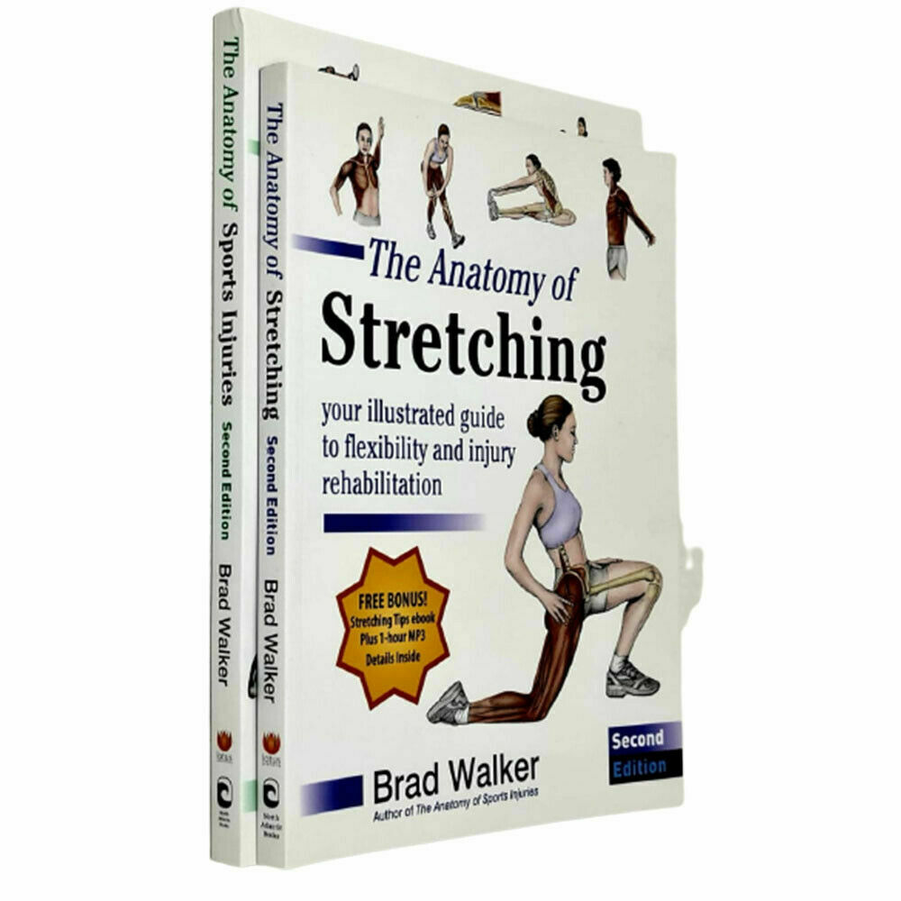 The Anatomy of Stretching 2 Books Collection Set By Brad Walker [ | eBay