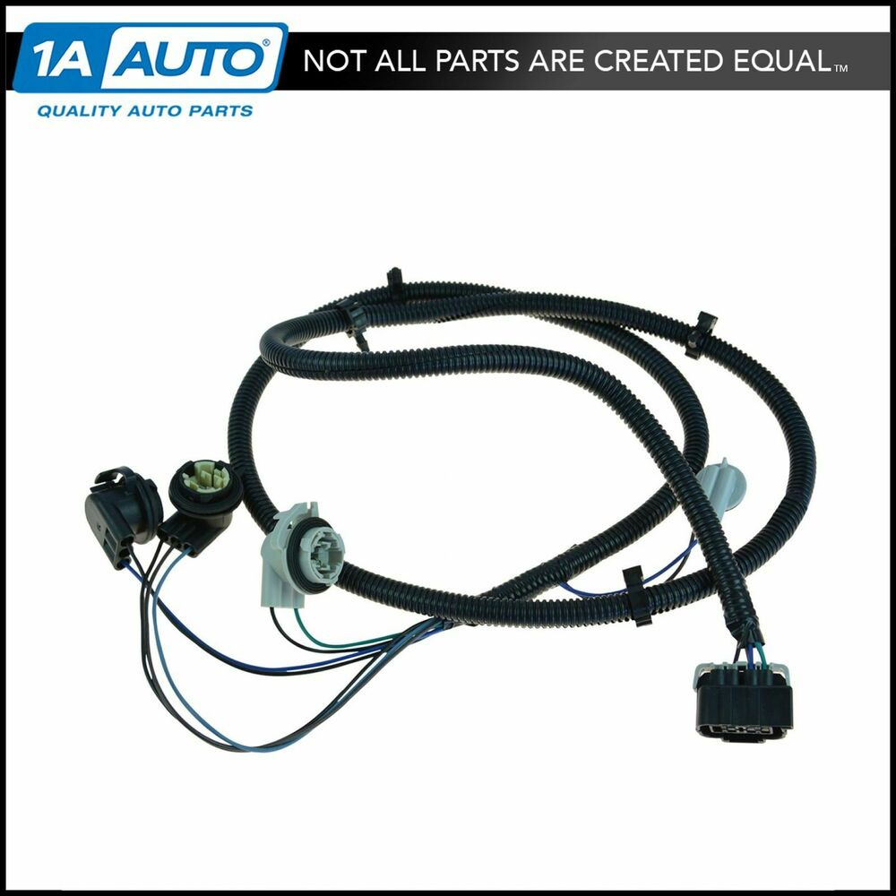 oem tail light harness right side for chevy silverado 1500. Black Bedroom Furniture Sets. Home Design Ideas