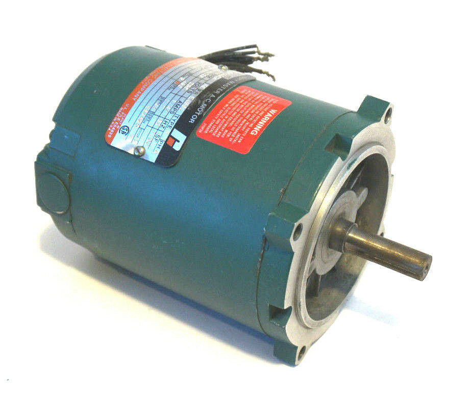 New reliance electric p56h3002m re ac motor 1725 rpm 1 3 for Ac motor 1 hp