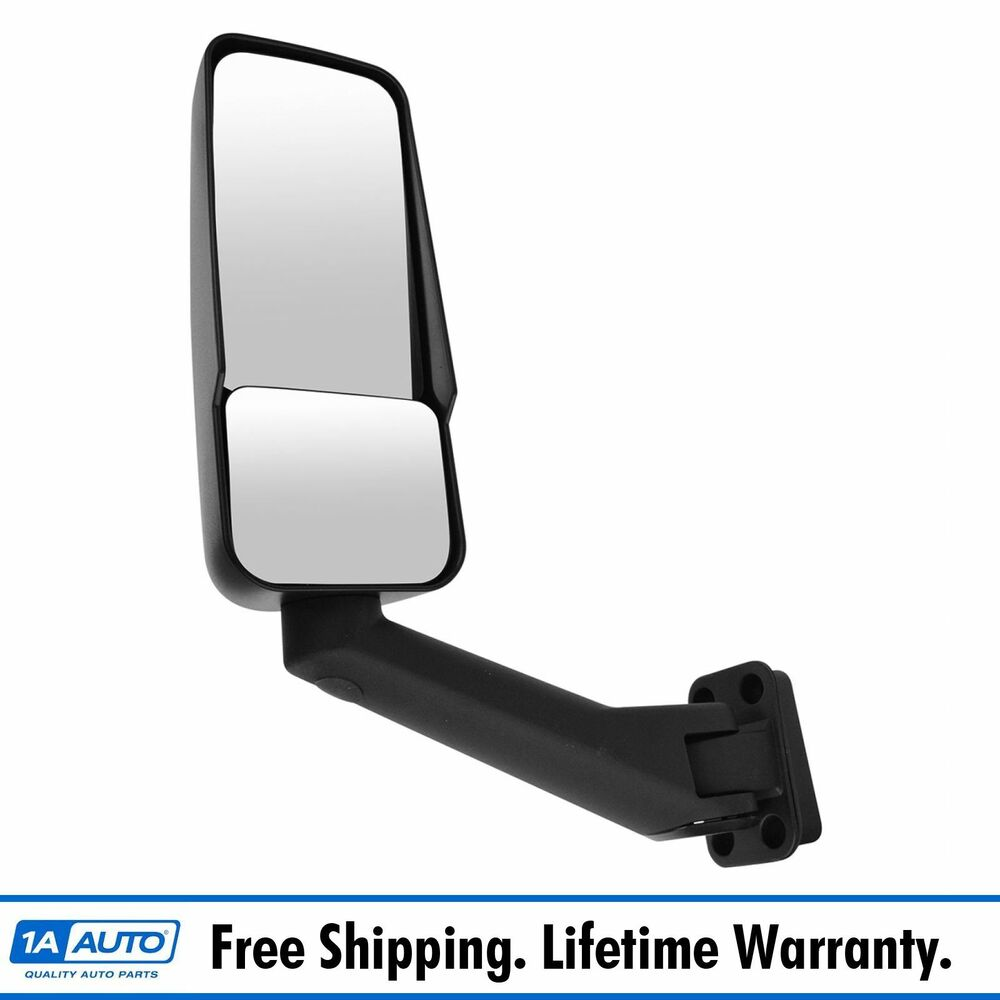 Oem Mirror Manual Driver Side Left Lh For 03 09 Chevy
