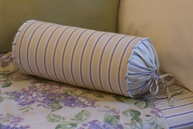 NEW Custom Ralph Lauren Cape Elizabeth Stripe Neck Roll Pillow Neckroll eBay