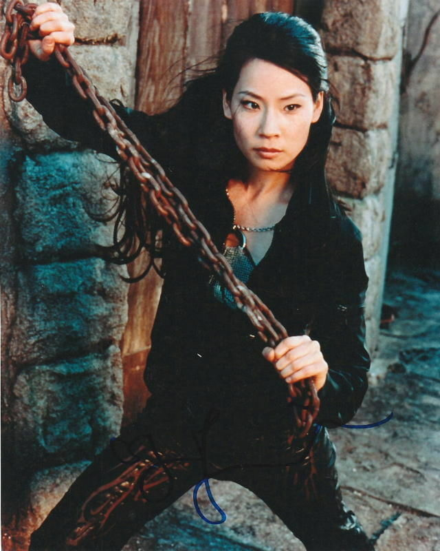 Angels Beauty Colored Faces: LUCY LIU.. Charlie's Angels' Beauty - SIGNED