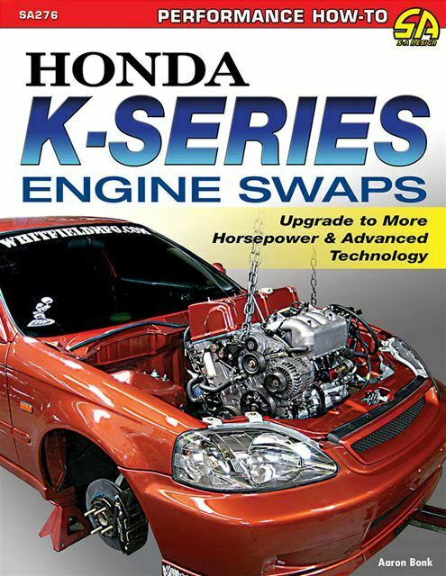 honda engine swap guide book   series engines book  ebay