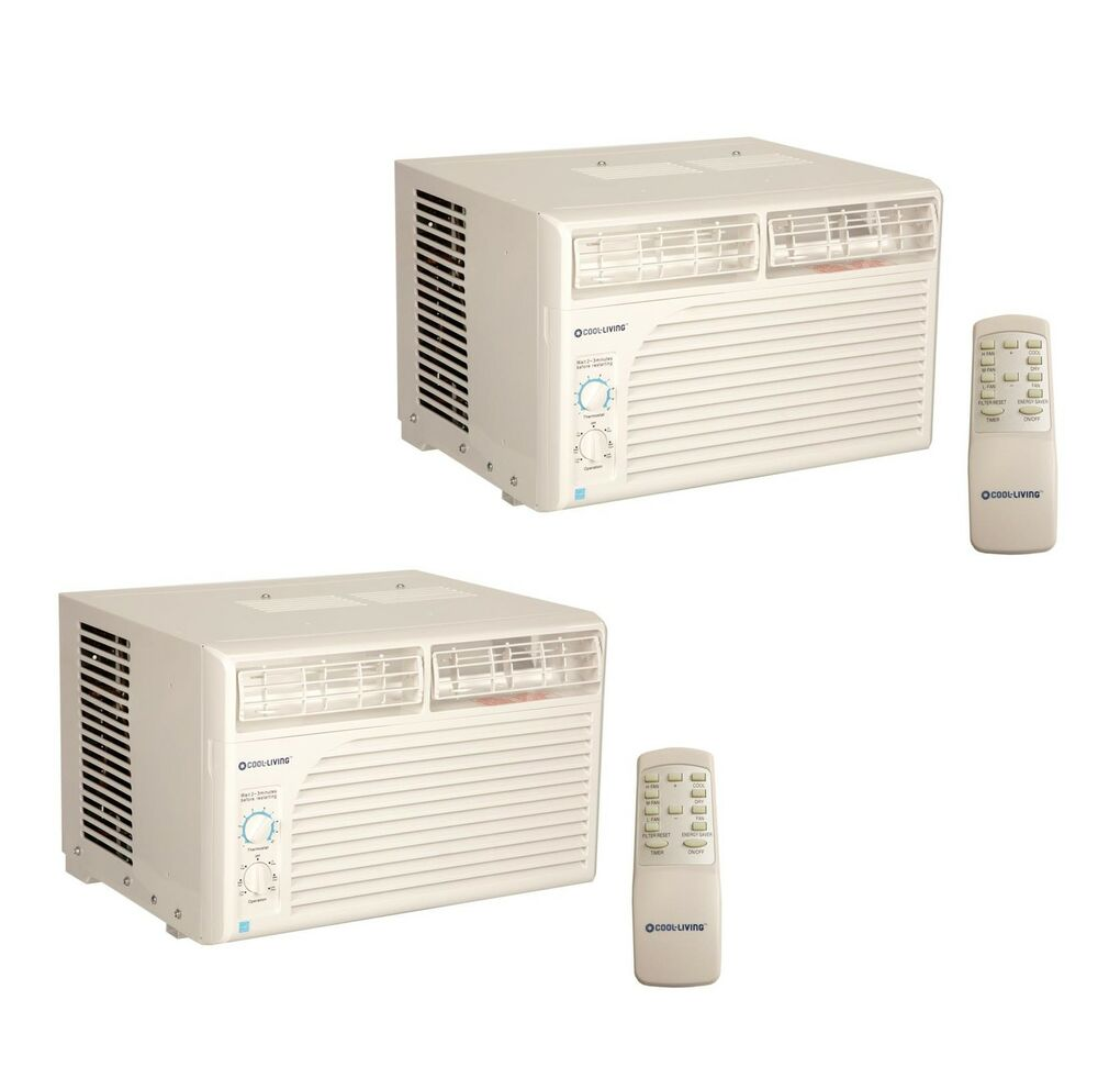Cool living 6 000 btu energy star efficient window mount room air conditioner 2 ebay - How to choose an energy efficient air conditioner ...