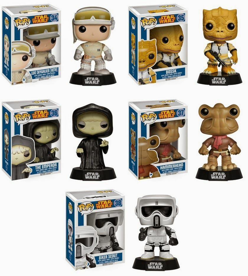 star wars pop vinyl figures ebay. Black Bedroom Furniture Sets. Home Design Ideas