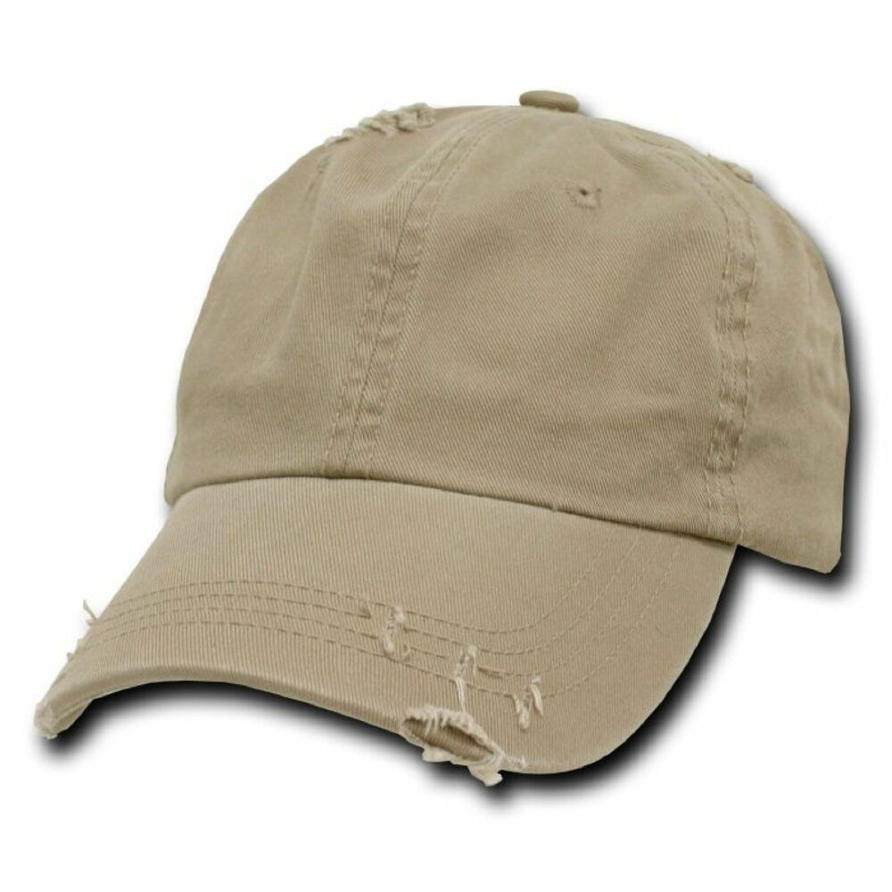 Details about Khaki Tan Vintage Distressed Weathered Retro Polo Baseball  Cap Caps Dad Hat New 9897793c07a