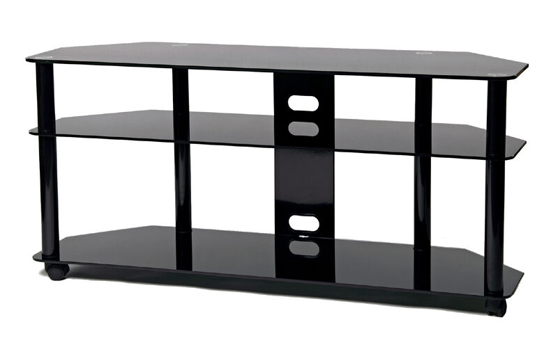 transdeco tall corner lcd tv stand w wheel 40 42 50 52 55 58 60 inch lcd tv new ebay. Black Bedroom Furniture Sets. Home Design Ideas