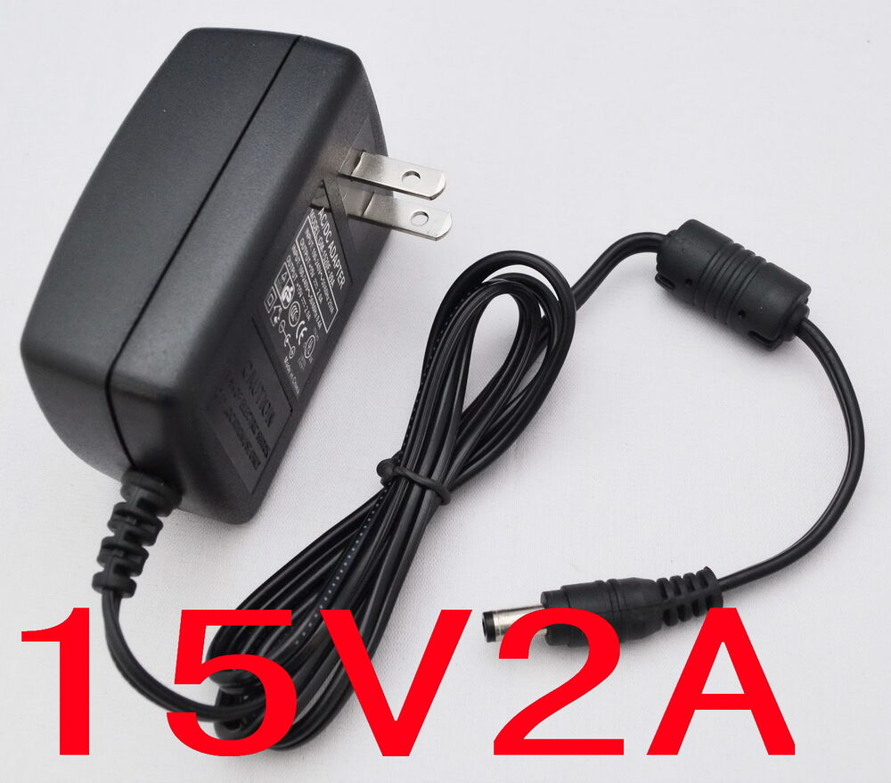 Ac Converter Adapter Dc 15v 2a Power Supply Charger Us
