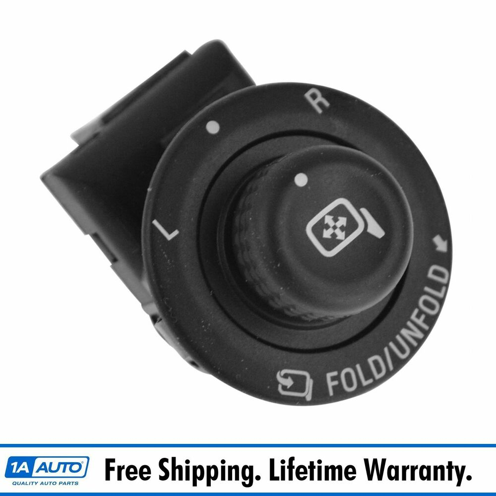 oem power folding mirror switch for ford expedition f150. Black Bedroom Furniture Sets. Home Design Ideas