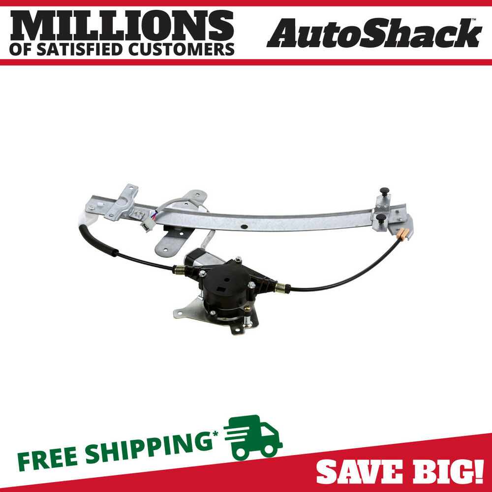 Front driver side power window regulator with motor fits for 2000 ford focus driver side window regulator