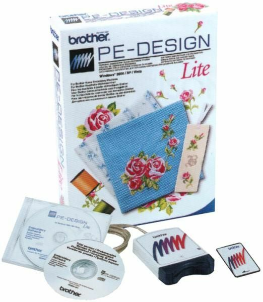 Brother pe design lite embroidery digitizing software ebay