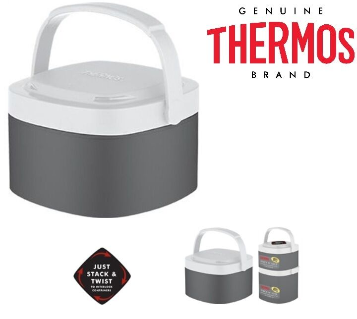 Hot Food Flask Container  Compartments