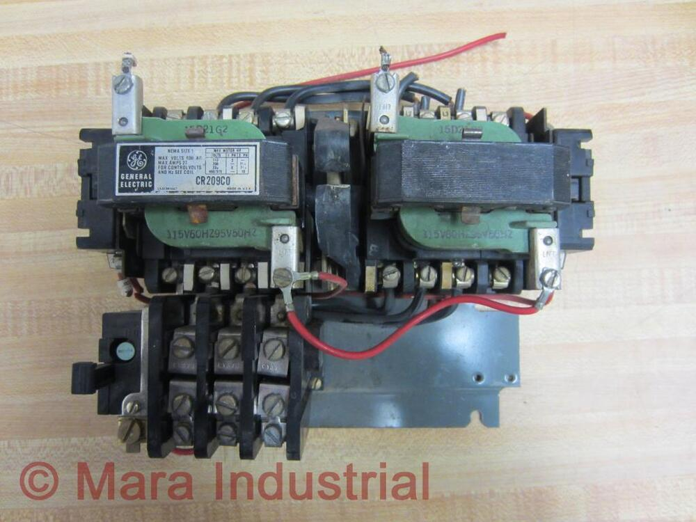 General electric cr209c0 motor starter used ebay for General electric motor starters