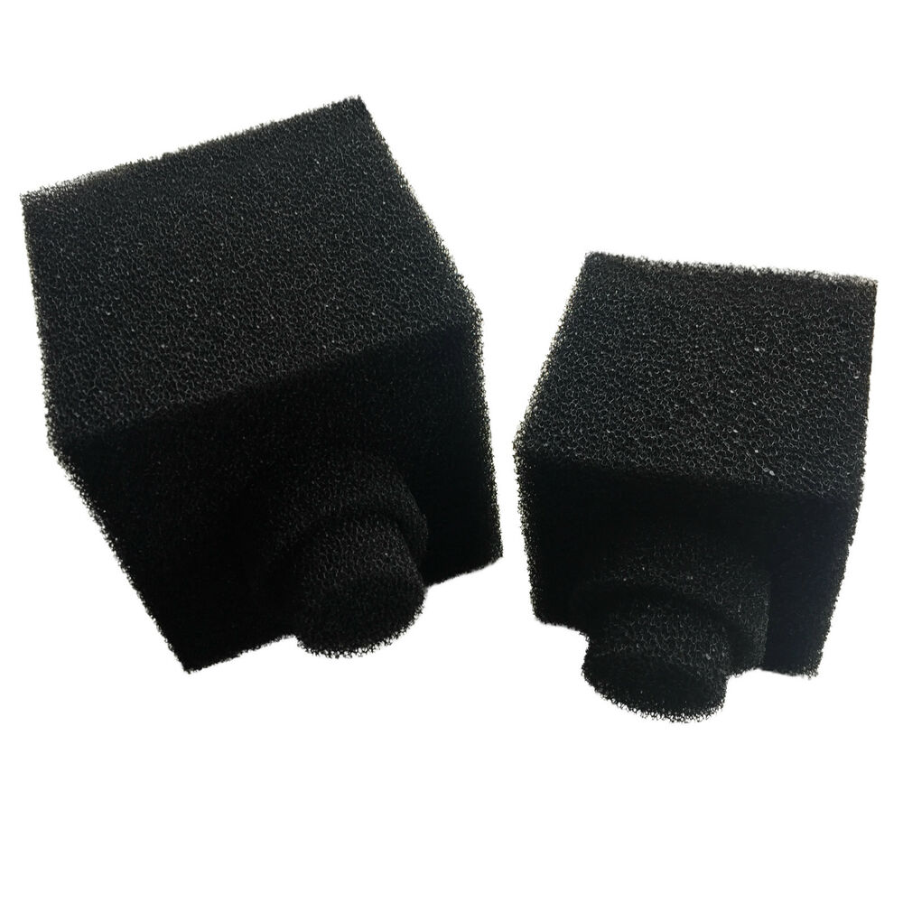 Fish pond foam pre filter sponge cube choose 6 cube or for Pond filter sponges