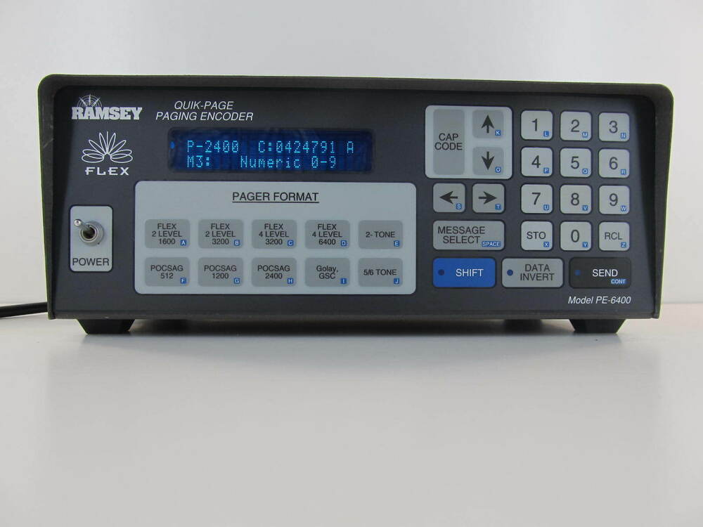 RAMSEY PE-6400 2 WAY RADIO and PAGER TESTER HAM Minitor | eBay