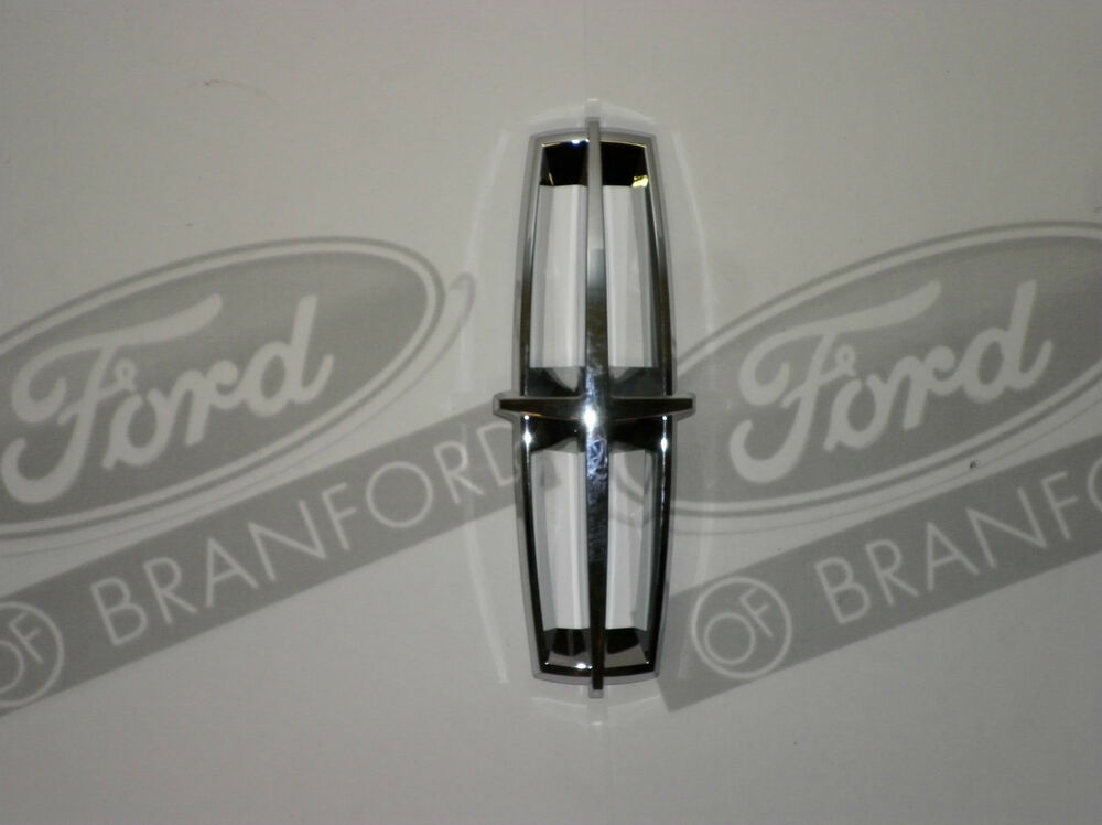 New Oem Ford Lincoln Front Radiator Griill Chrome Decal