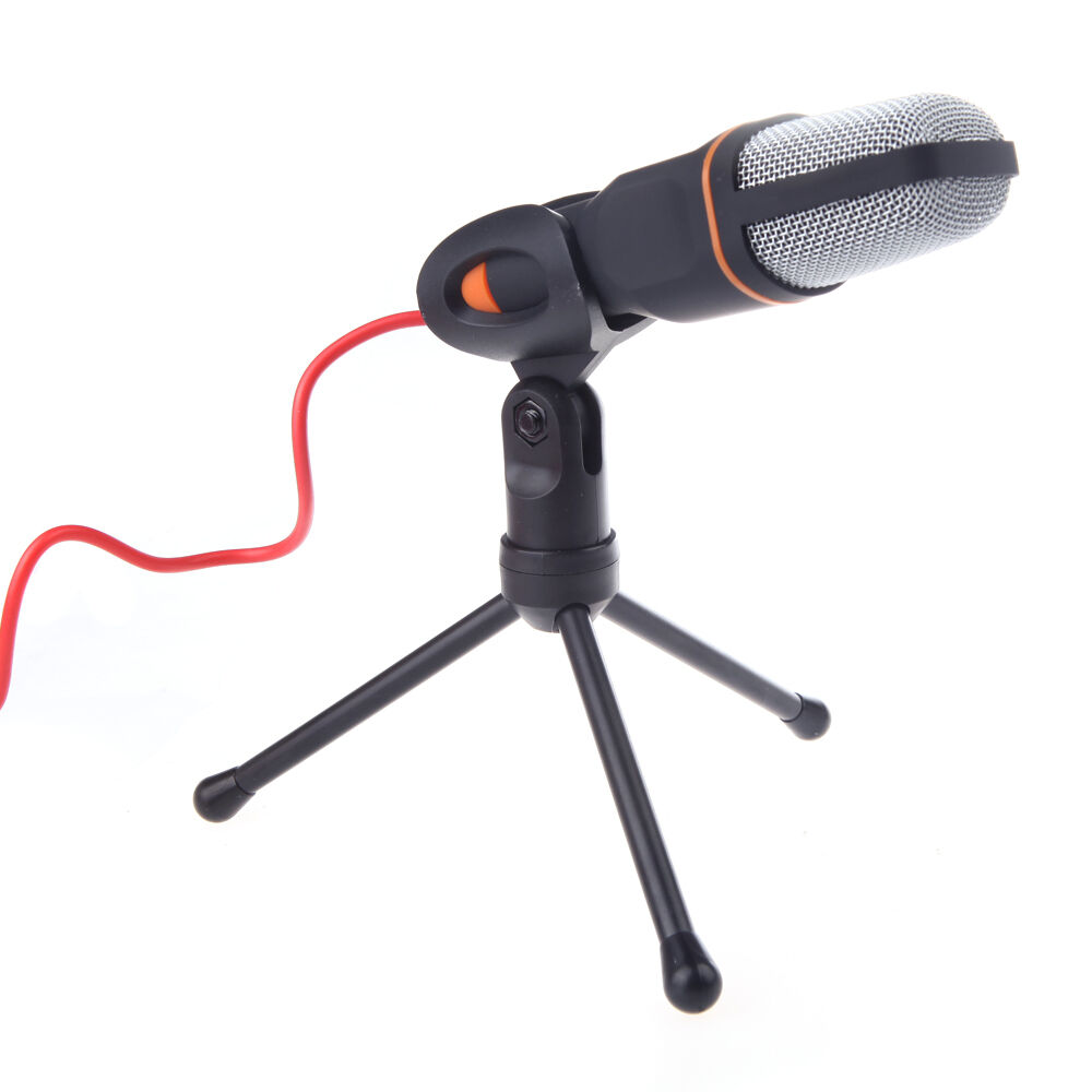 singing recording condenser microphone mic for pc laptop msn skype youtube ebay. Black Bedroom Furniture Sets. Home Design Ideas