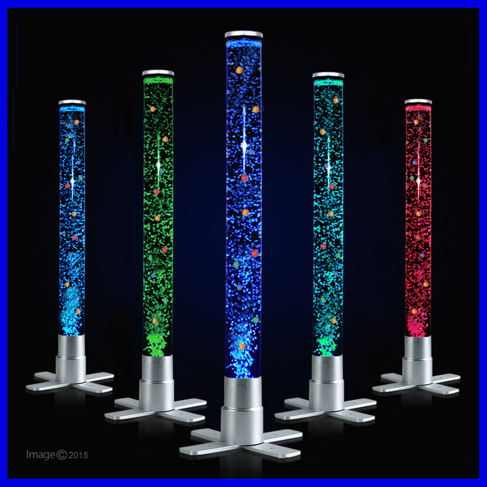 60cm colour changing led bubble tube tower lamp novelty. Black Bedroom Furniture Sets. Home Design Ideas