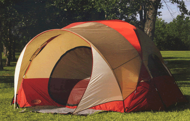 New 4 Man Person Family Camping Dome Tent 10 x 8 x 5