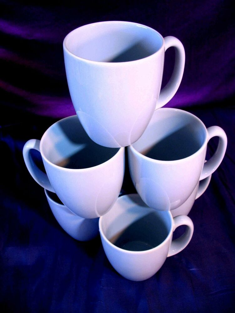 Set Of 4 Corelle Country Cottage Coffee Cups Mugs Nice Ebay