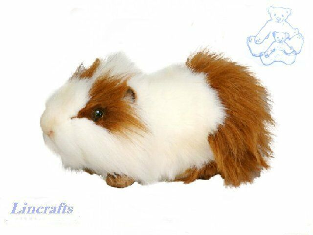 Brown white guinea pig guineapig plush soft toy by hansa for Free guinea pig stuff