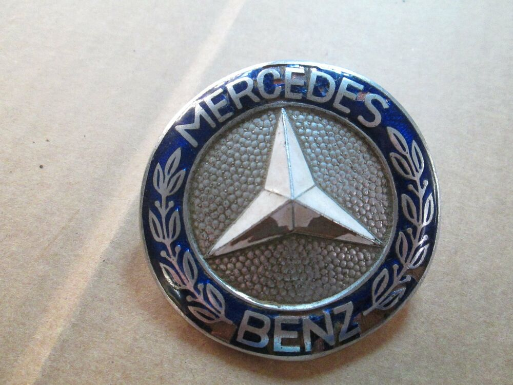 Vintage mercedes benz grille badge emblem 445 ebay for Mercedes benz badges for sale