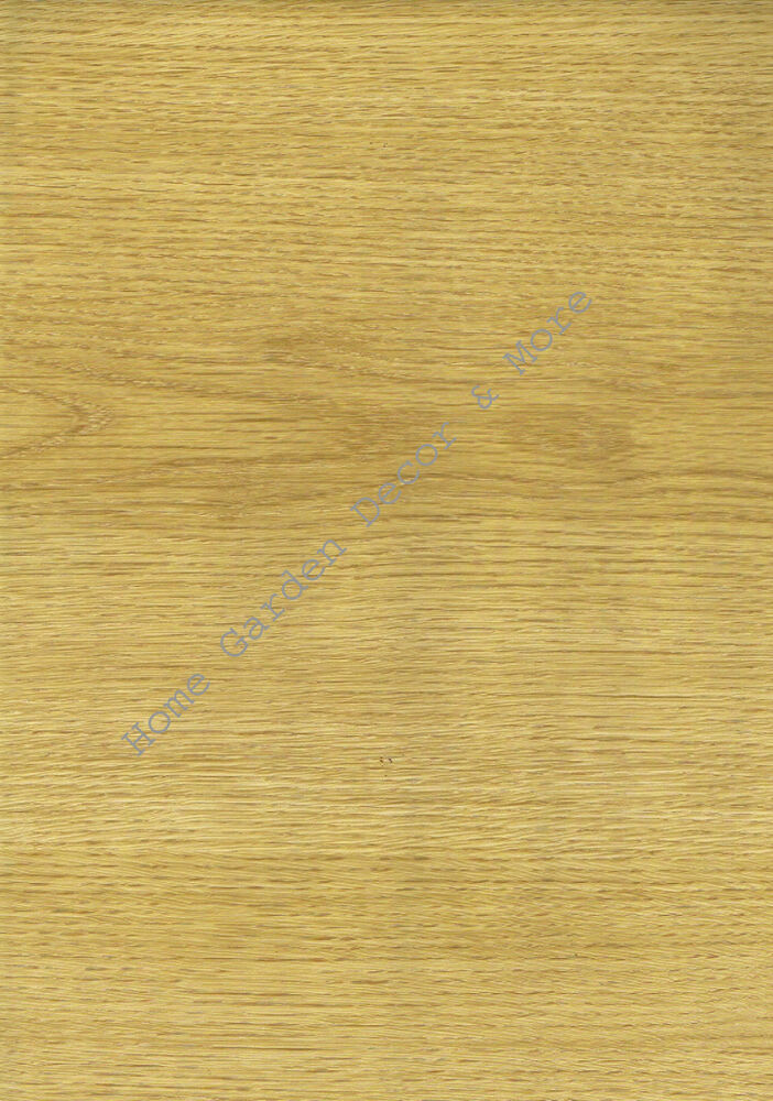 Natural Light Wood Grain Oak Vinyl Contact Paper Shelf