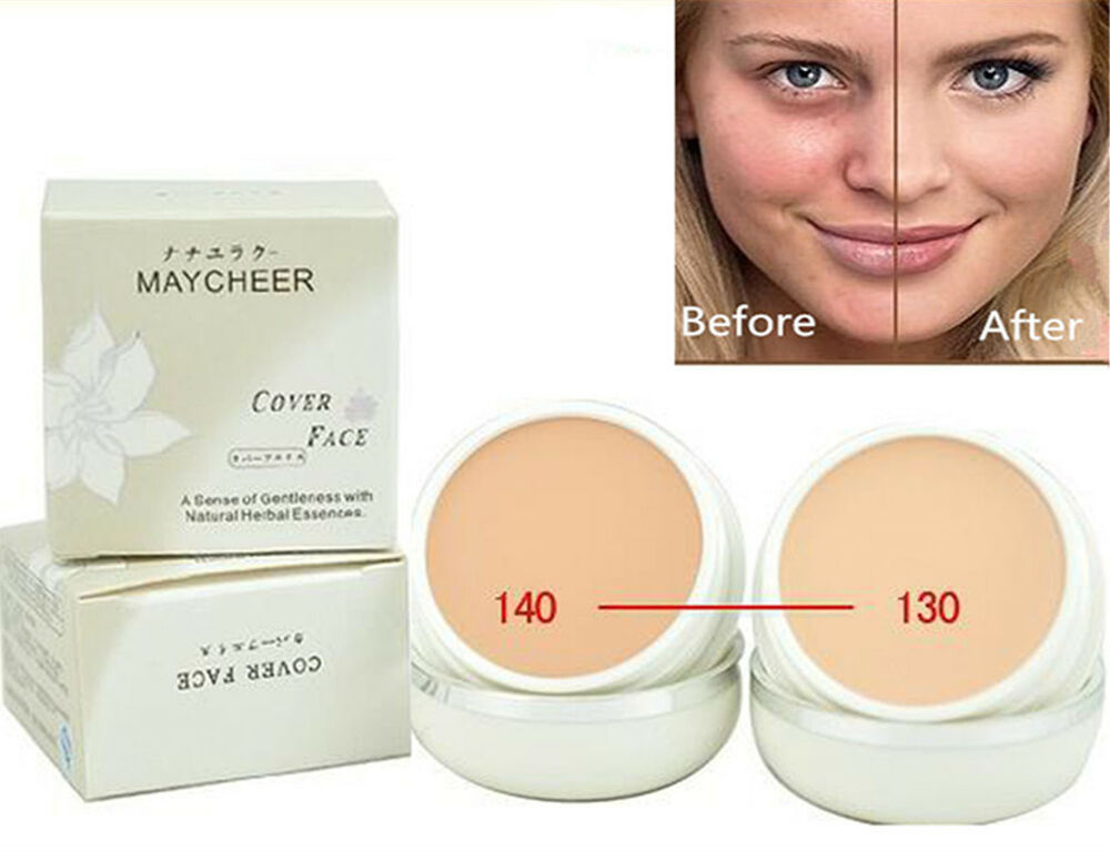 New Concealer Foundation Cream Cover Black Eyes Acne Scars Makeup ...