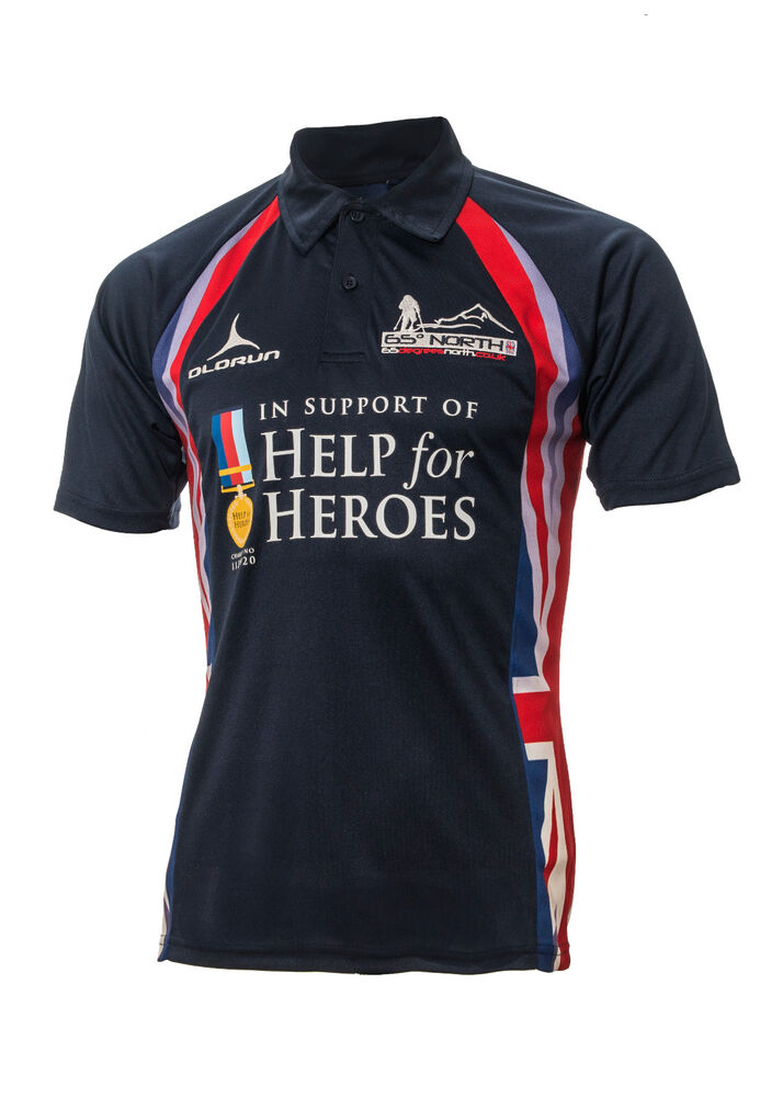 help for heroes 65 degrees north polo shirt s xxxxl army