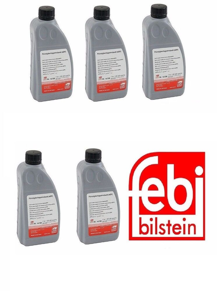 5Liters ATF Automatic Transmission Fluid Audi BMW Jaguar Land