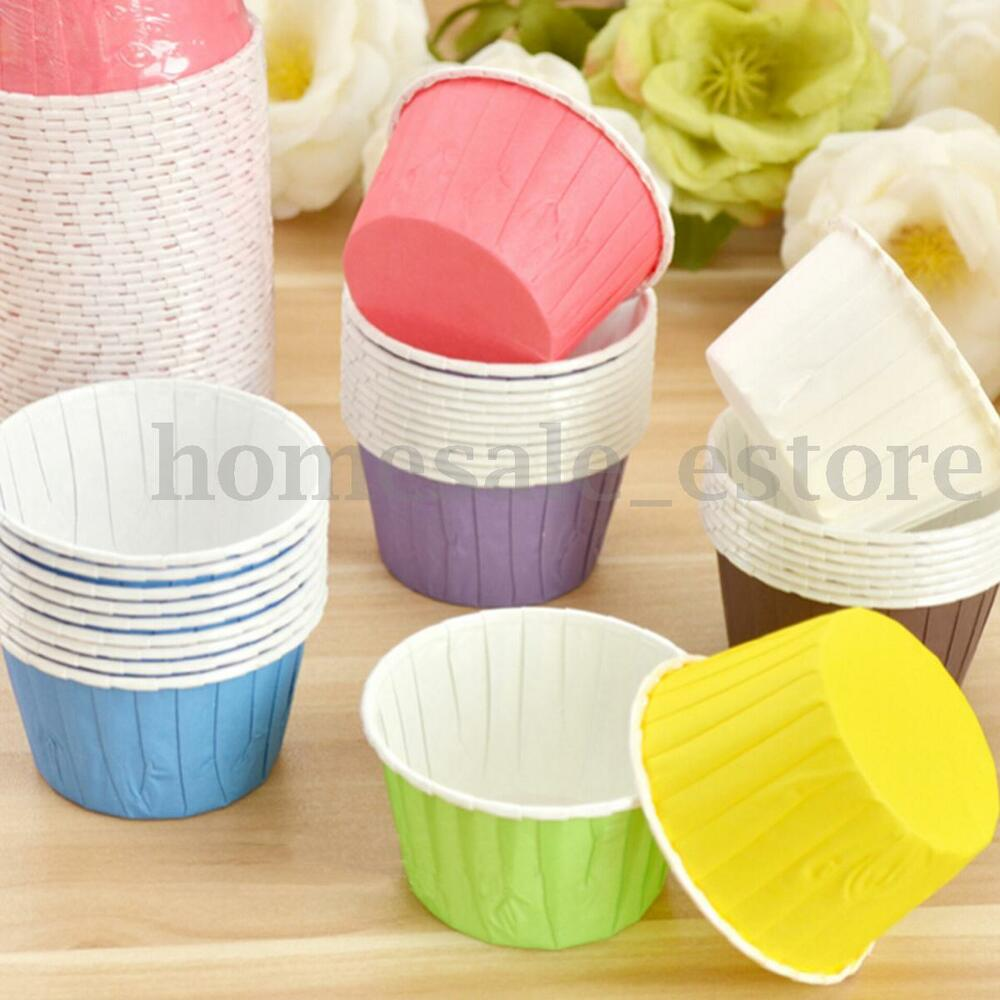 Paper Cupcake Cups : Pcs paper cake cupcake liner wrappers muffin cases