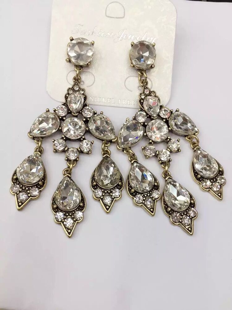 top selling vintage jewelry clear crystal chandelier