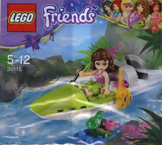 Lego friends jungle boat 30115 polybag bnip ebay for Olivia s garden pool instructions