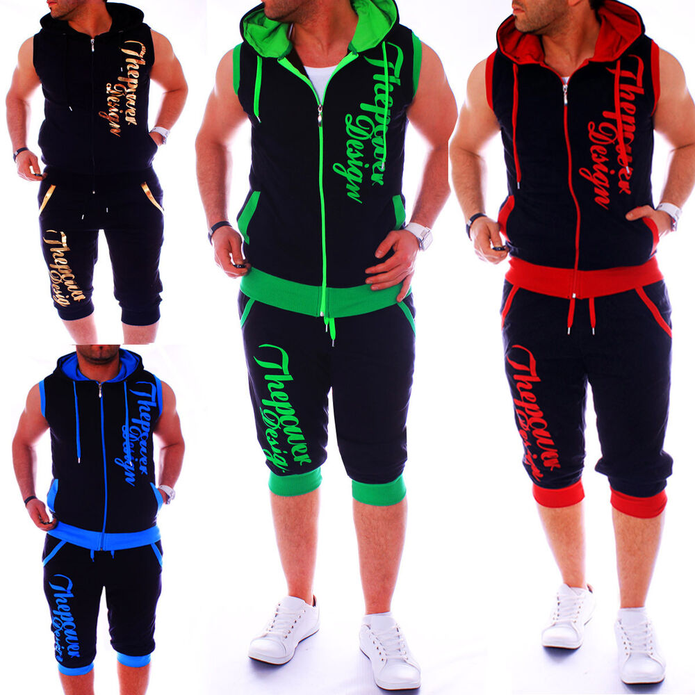 herren jogginganzug jogging hose jacke sportanzug sporthose fitness sommer hose ebay. Black Bedroom Furniture Sets. Home Design Ideas