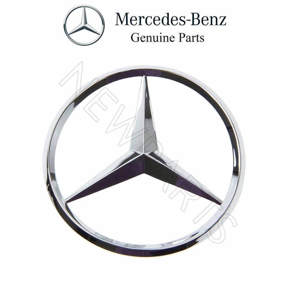 New mercedes cl500 cl600 clk320 clk430 slk230 trunk lid for Mercedes benz trunk emblem