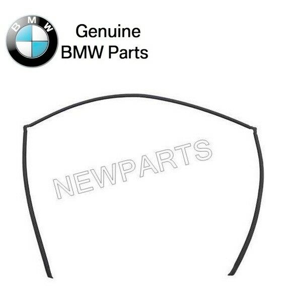 For BMW GENUINE E39 Windshield Moulding Trim Seal For Rear