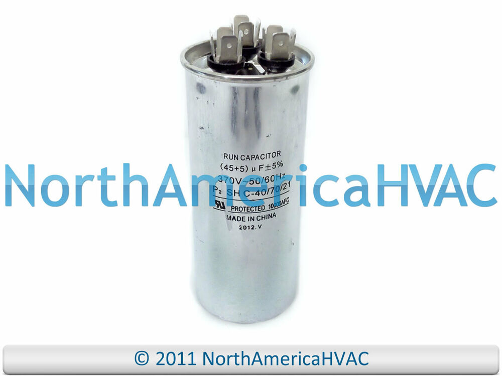 Carrier bryant payne hc98ja046 replacement run capacitor for Electric motor capacitor replacement