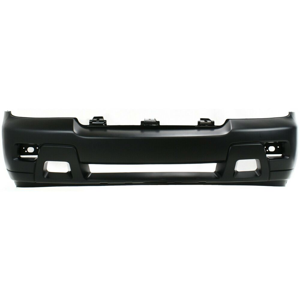 Front Bumper Cover For 2006 2009 Chevy Trailblazer W Fog