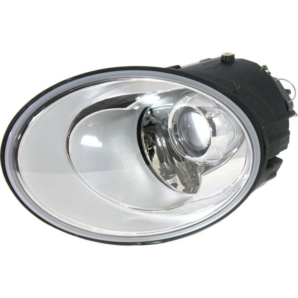 Details About Headlight For 2006 2008 2009 2010 Volkswagen Beetle Left With Bulb